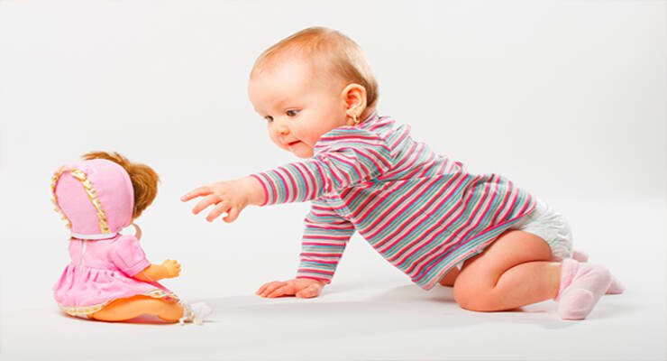 Фото к статье: Первые игрушки малыша
