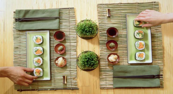 Фото к статье: Готовим суши в подарок защитникам отечества
