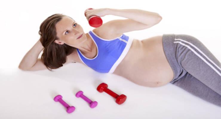 Фото к статье: Спорт во время беременности: третий триместр