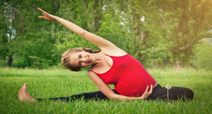 Фото к статье: Комплекс упражнений: Йога для беременных (2 и 3 триместры)