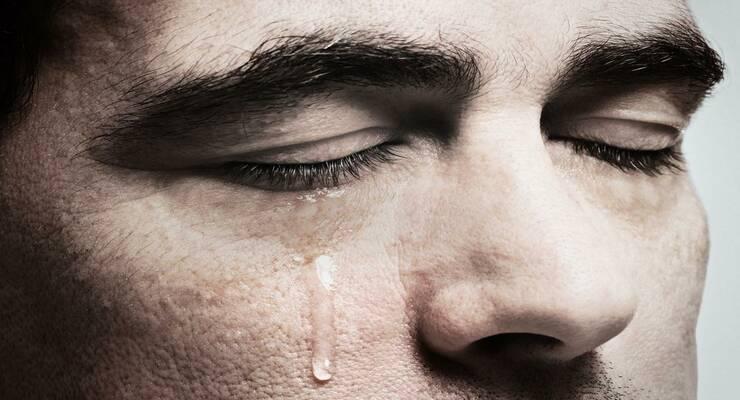 Фото к статье: Мужчины не плачут?