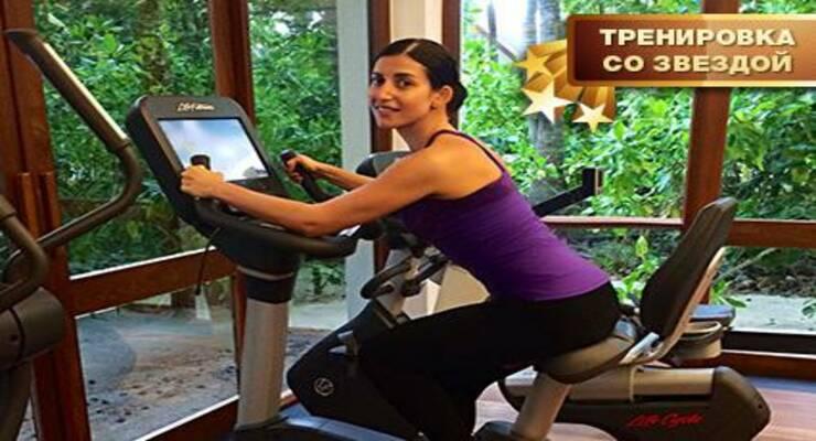 Фото к статье: Тренировка со звездой: как похудела певица Жасмин (ФОТО)