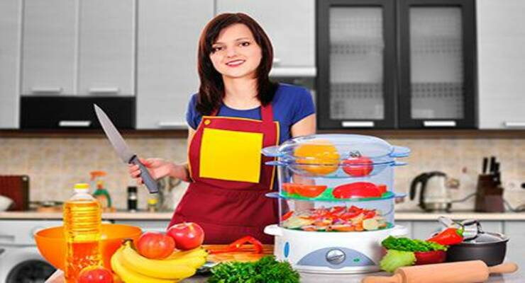 Фото к статье: Готовим в пароварке: нескучные блюда для похудения