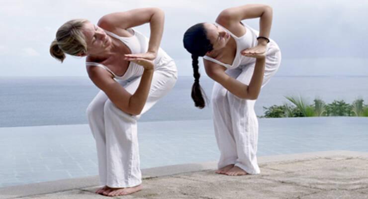 Фото к статье: Йога для позвоночника: позы на скручивание (ФОТО)