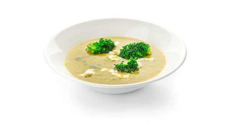 Фото к статье: Рецепт: легкий суп из цукини