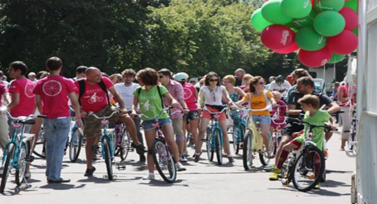Фото к статье: Москва велосипедная