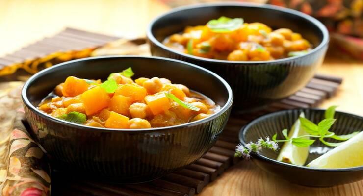Фото к статье: Рецепт карри с ананасом по-тайски