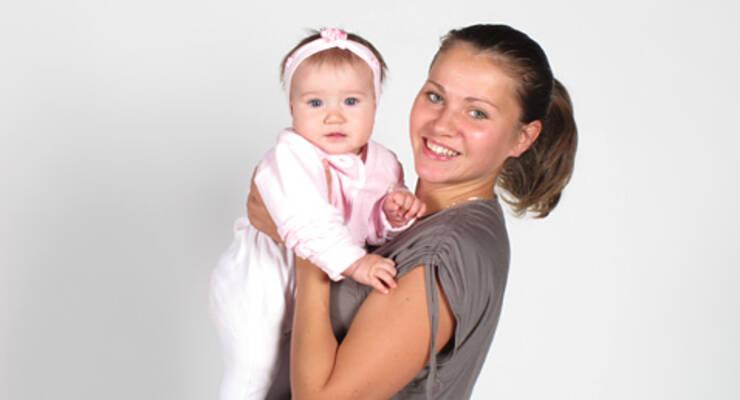 Фото к статье: Фитнес с малышом