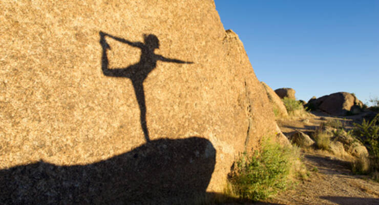 Фото к статье: Йога для начинающих: позы на баланс (ФОТО!)