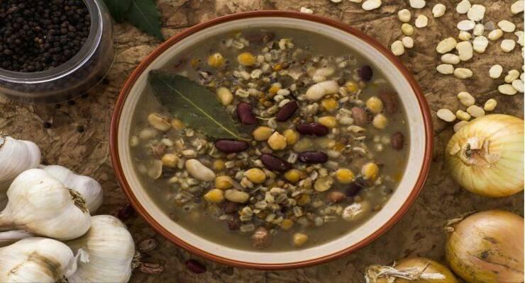 Фото к статье: Крестьянский суп легуми