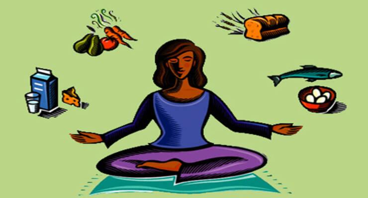 Фото к статье: Йога и питание: строгие запреты или свои правила?