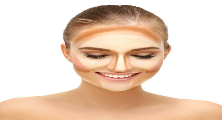 Фото к статье: Техники макияжа: контуринг, стробинг, дрейпинг, бейкинг — что выбрать?