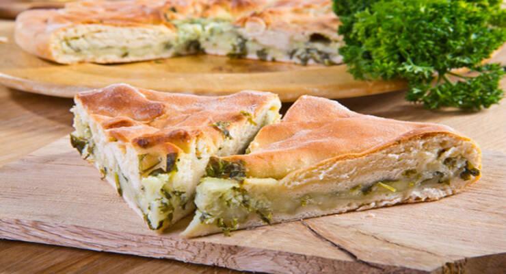 Фото к статье: Осетинский пирог с сулугуни