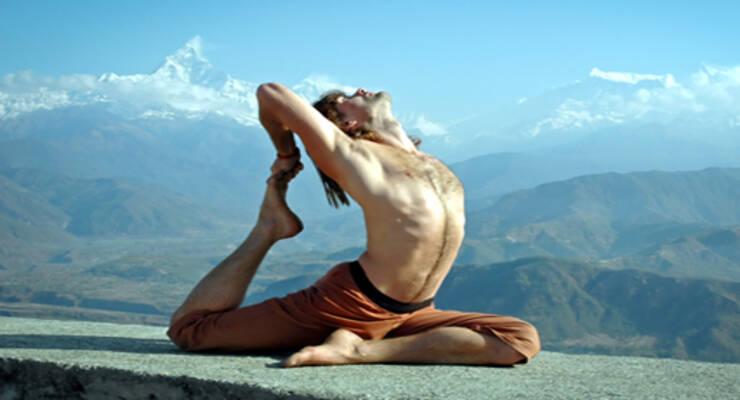 Фото к статье: Хатха-йога: дыхание облегчает практику