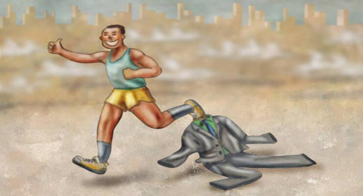 Фото к статье: Фитнес против гнева и тахикардии