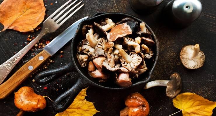 Фото к статье: Как вкусно пожарить лесные грибы