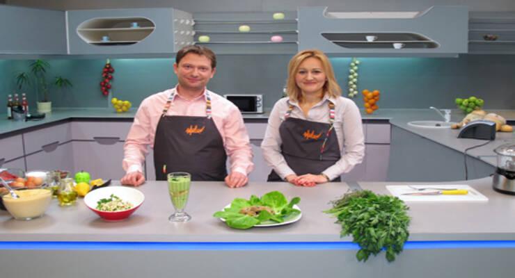 Фото к статье: «Хорошая еда» с диетологом. Суп с лососем, котлеты с тыквой и салат с кускусом