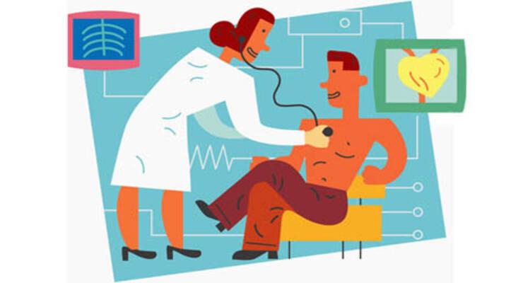 Фото к статье: Телефон заменит врача