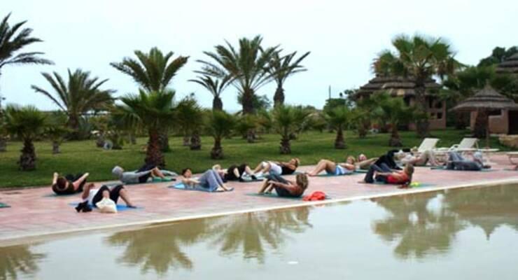 Фото к статье: Фитнес-тур «Бодифлекс с Мариной Корпан» в Тунисе: результаты волшебного похудения и море талассо