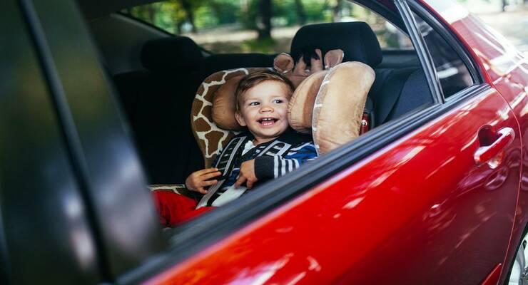Фото к статье: Безопасная езда: когда в машине ребенок