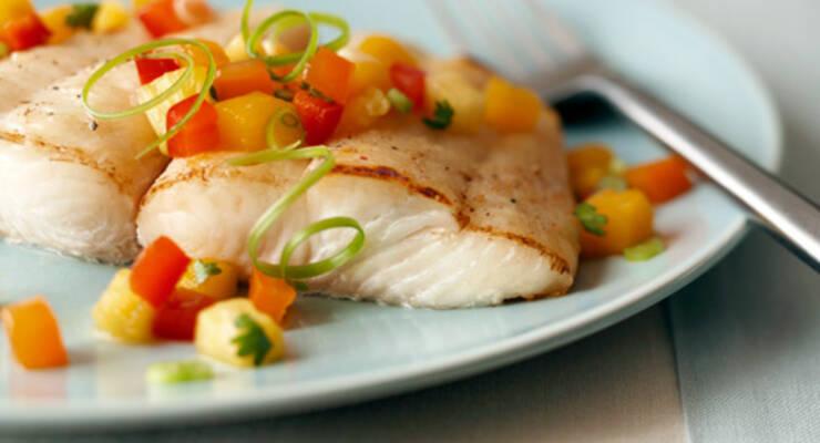 Фото к статье: «Хорошая еда». Белая рыба с овощами