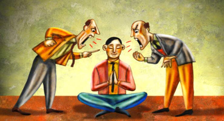 Фото к статье: Техники медитации: как не стать участником конфликта