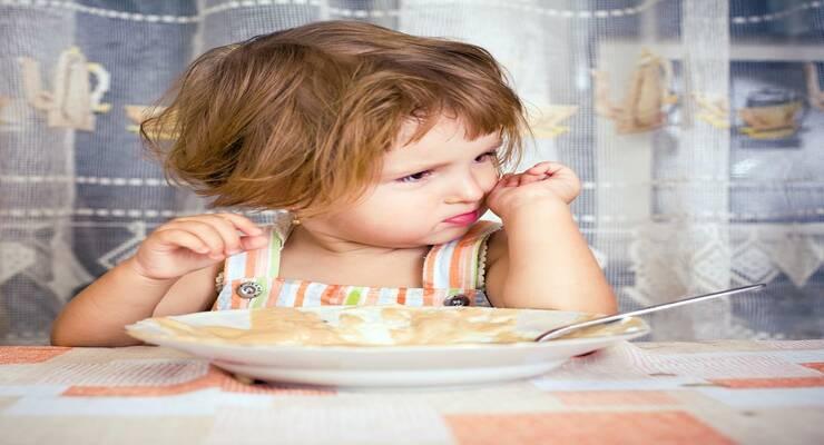 Фото к статье: Почему у малыша плохой  аппетит