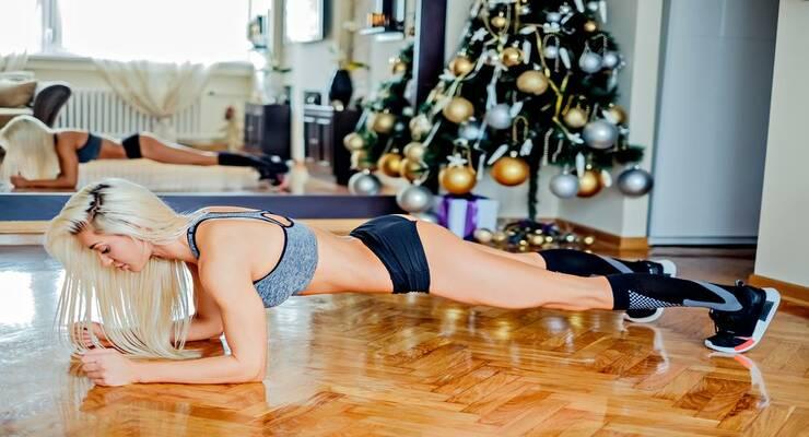 Фото к статье: 5 силовых упражнений для «выживания» в новогодние праздники