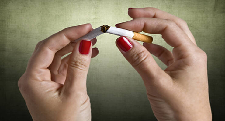 Фото к статье: Любовь Абраменко: бросила курить в домашних условиях после 18 лет стажа