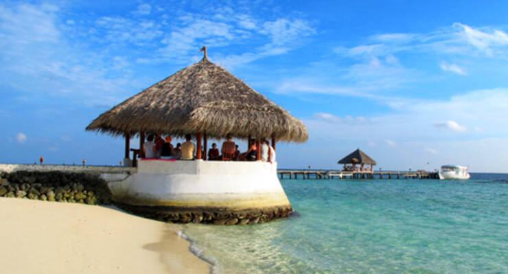 Фото к статье: Йогалатес на Мальдивах