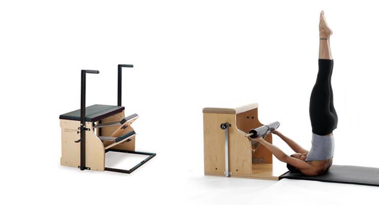 Фото к статье: Пилатес-тренажеры: стул