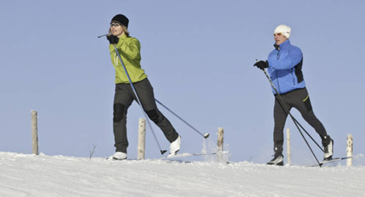 Фото к статье: Как правильно бегать на лыжах