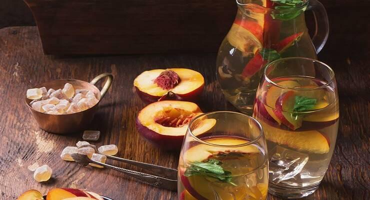 Фото к статье: 5 оригинальных рецептов холодного чая