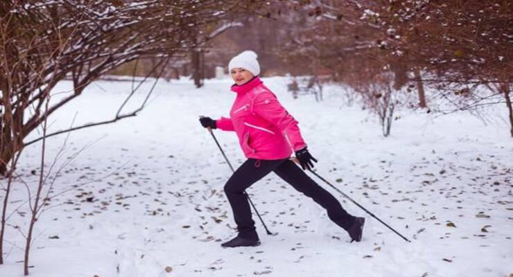 Фото к статье: Осваиваем технику скандинавской ходьбы (видео)