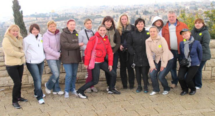 Фото к статье: Фитнес-тур «Худеем с Мариной Корпан» в Израиле