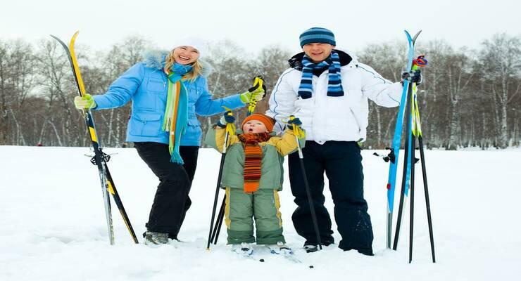 Фото к статье: На лыжную прогулку всей семьей