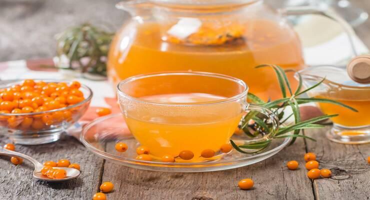 Фото к статье: Облепиха, малина, смородина: рецепты вкусного чая с ягодами