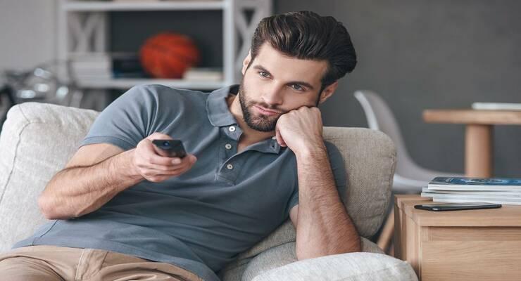 Фото к статье: Спрячьте от мужа пульт для телевизора