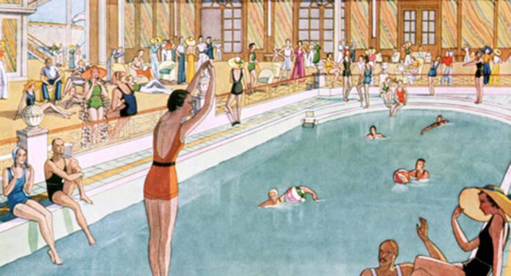 Фото к статье: Правила этикета в бассейне
