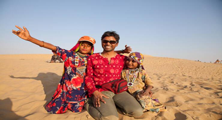 Фото к статье: Рави Кумар Довлуру: «Йога-тур в Индию сильно впечатлил даже меня!»