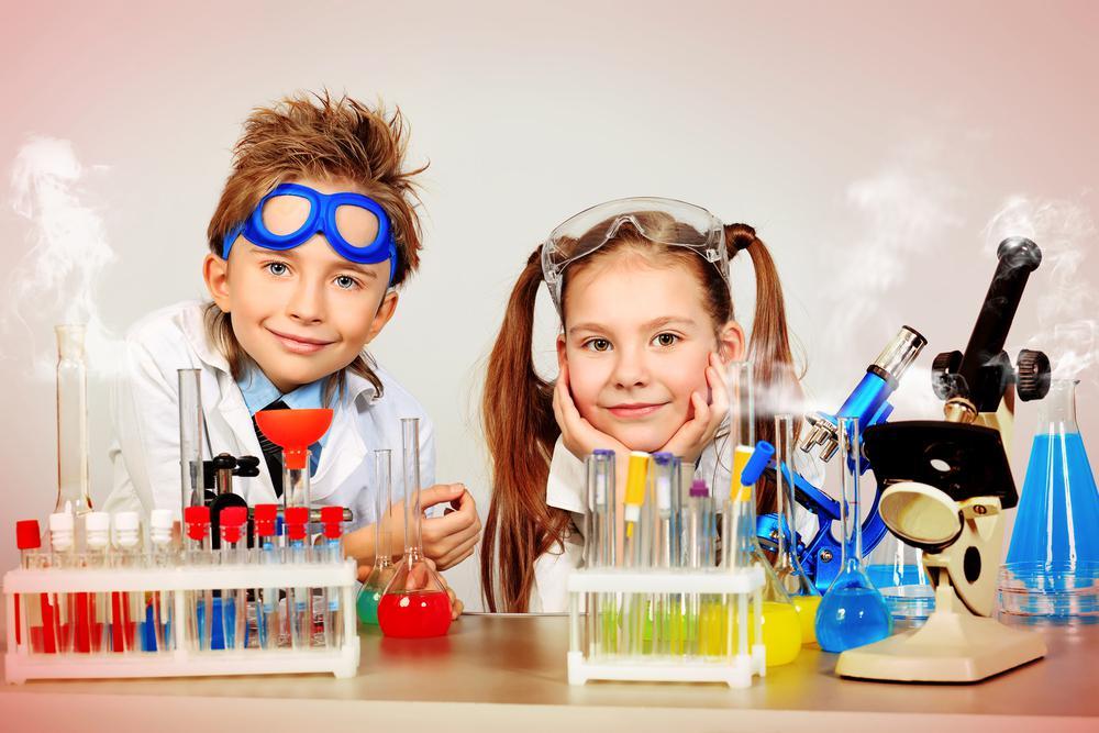 Картинка дети и наука