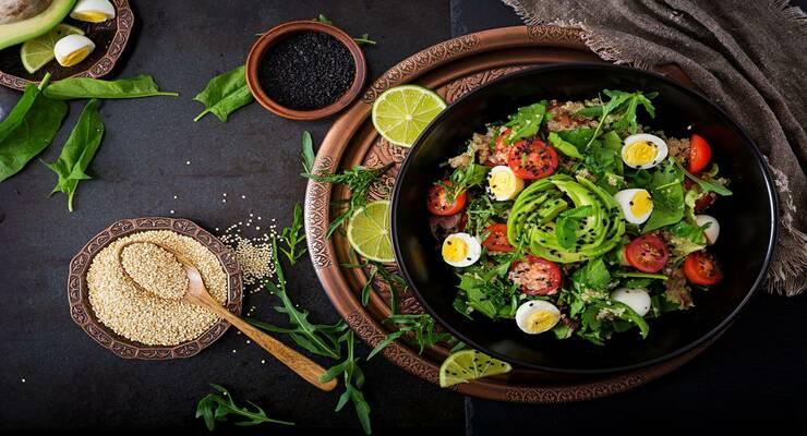 Фото к статье: Рецепты самых вкусных салатов с крупами. Часть II