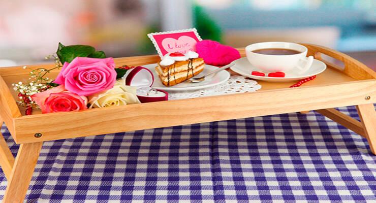 Фото к статье: Завтрак в постель. Простые идеи для 8 марта и не только