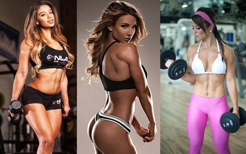 фитнес девушка модель фото