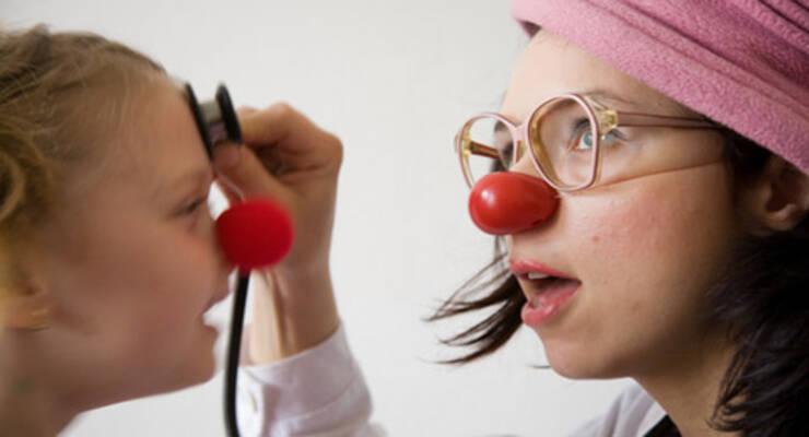 Фото к статье: Клоуны лечат любые болезни