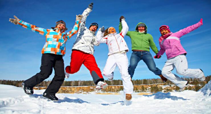 Фото к статье: Каникулы в движении: спорт зимой