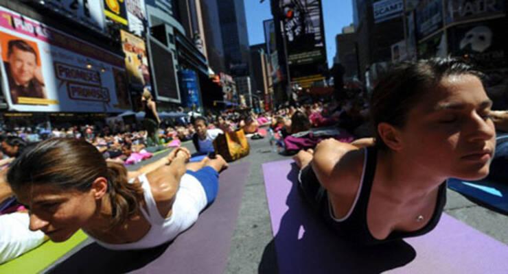 Фото к статье: Татьяна Лисицкая о йоге на западный манер
