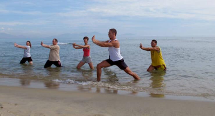 Фото к статье: Фитнес-тур во Вьетнаме. Медитация под топот крабов