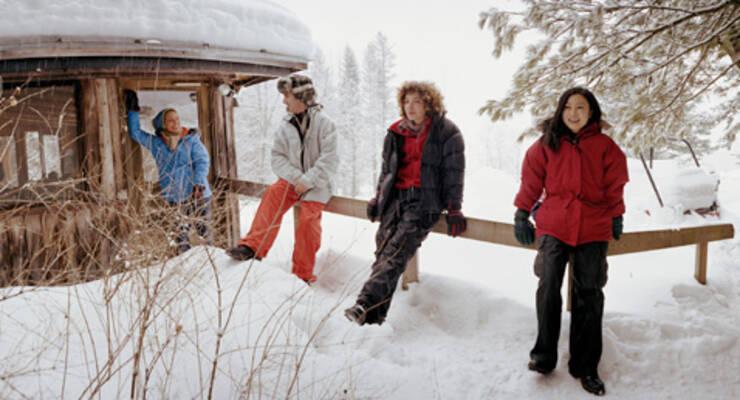 Фото к статье: Станислав Рогачев: «Новогодние праздники — только на природе!»