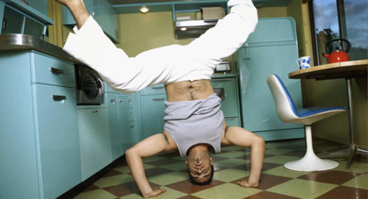 Фото к статье: Как сделать фитнес дома максимально комфортным